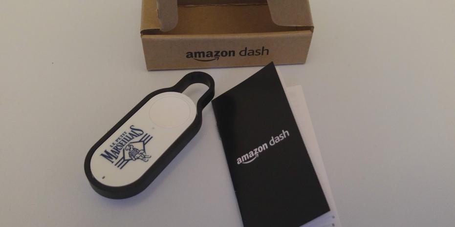 Illustration Amazon Dash : test du bouton WiFi qui risque de chambouler notre quotidien
