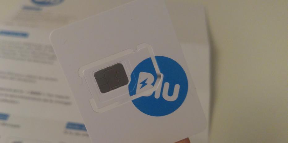 Illustration Blu : test de l'opérateur mobile gratuit