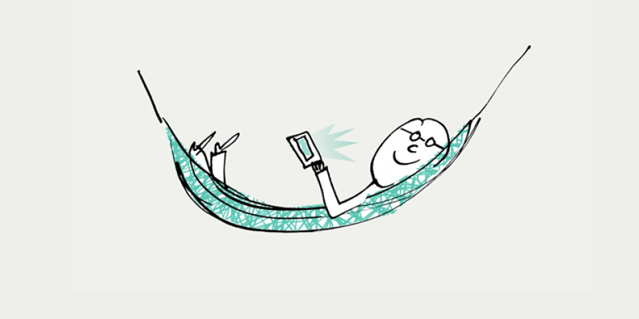Illustration Brief.me : une façon différente de m'informer au quotidien