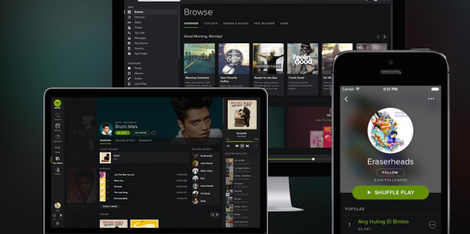 Illustration Spotify Premium : l'astuce pour payer moins cher son abonnement